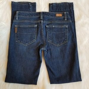 Paige Premium Denim Blue Heights Jeans 27